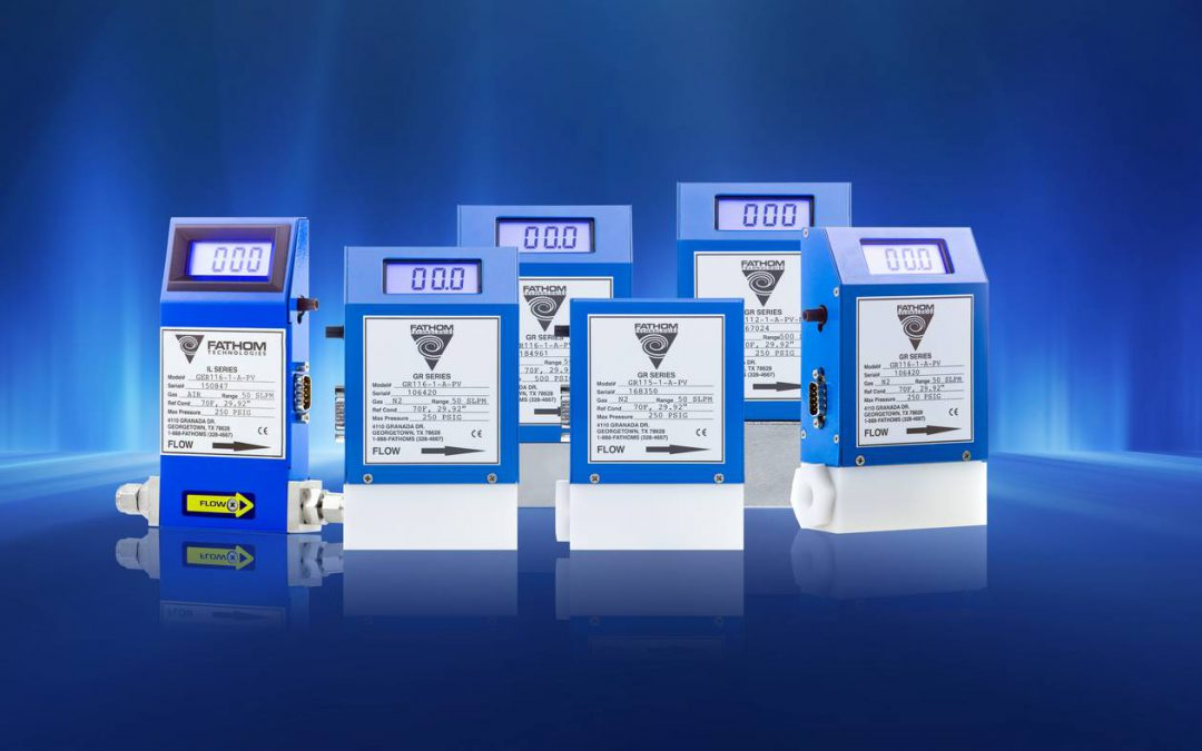 GRMF Series Air Flow Meters and Controllers